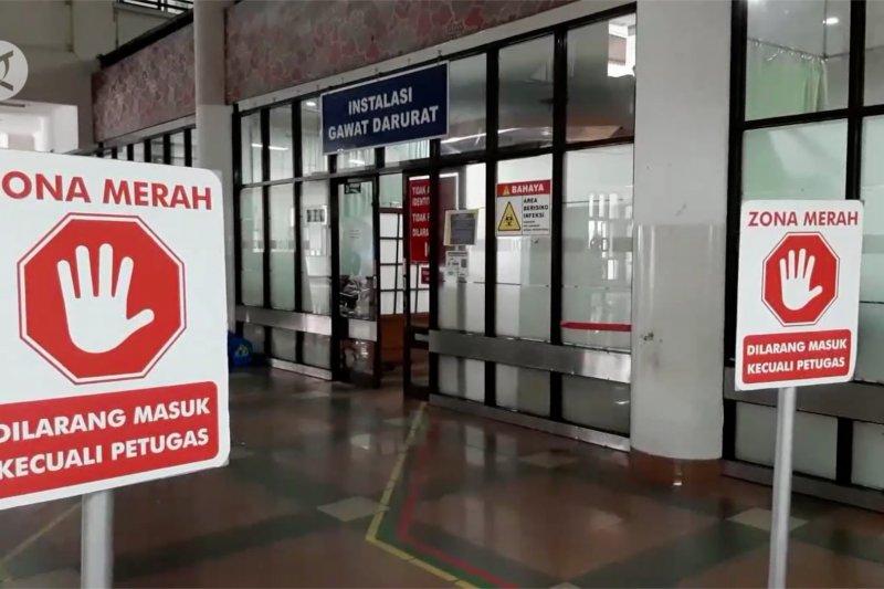 Keterisian RS rujukan COVID-19 di Kota Bandung menurun