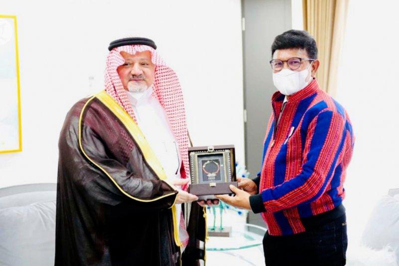 Kunjungi Menkominfo, Dubes Saudi ajak dirikan organisasi digital