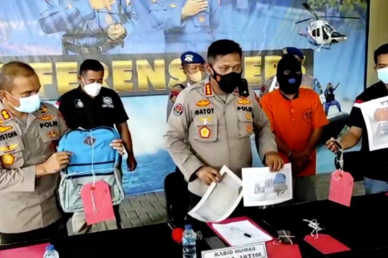 Polda Jatim gagalkan penyelundupan benur senilai Rp150 juta