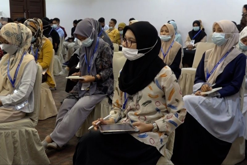 90 pemuda Aceh dilatih jadi kader pengawas pemilu