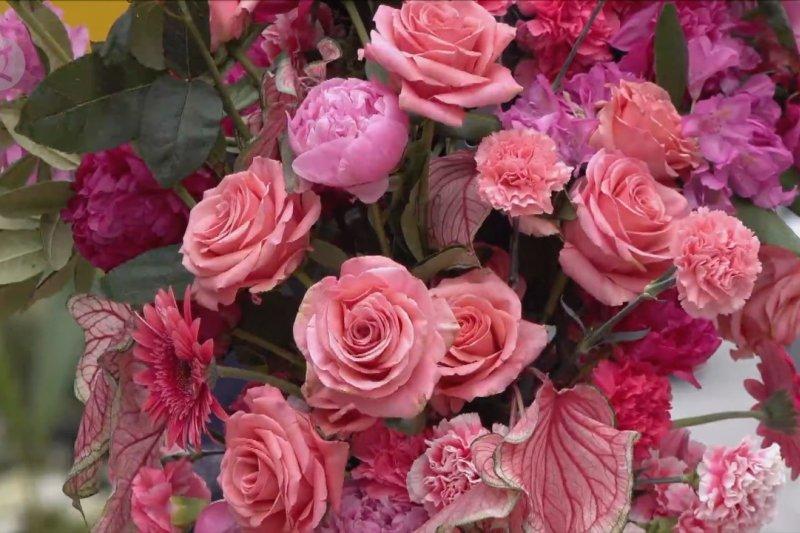 Semarak festival bunga di New York City