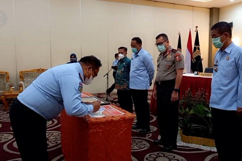 Kemenkumham Sulteng deklarasikan Lapas dan Rutan Bersinar