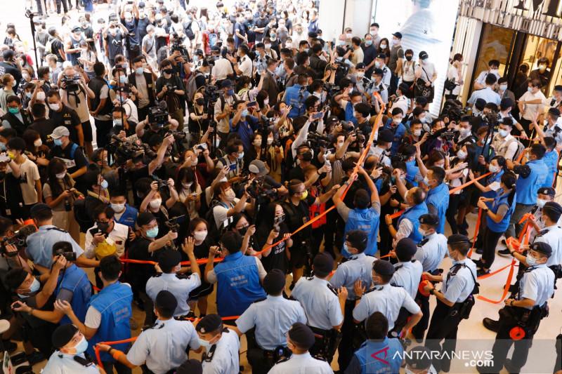 Polisi Hong Kong tangkap sembilan tersangka pelaku terorisme