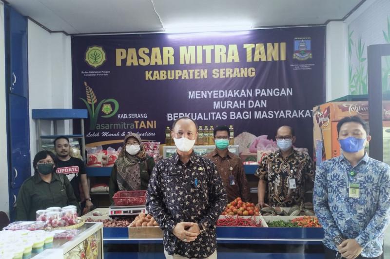 DKPP Serang: Pasar Mitra Tani pangkas mata rantai 10 bahan pokok