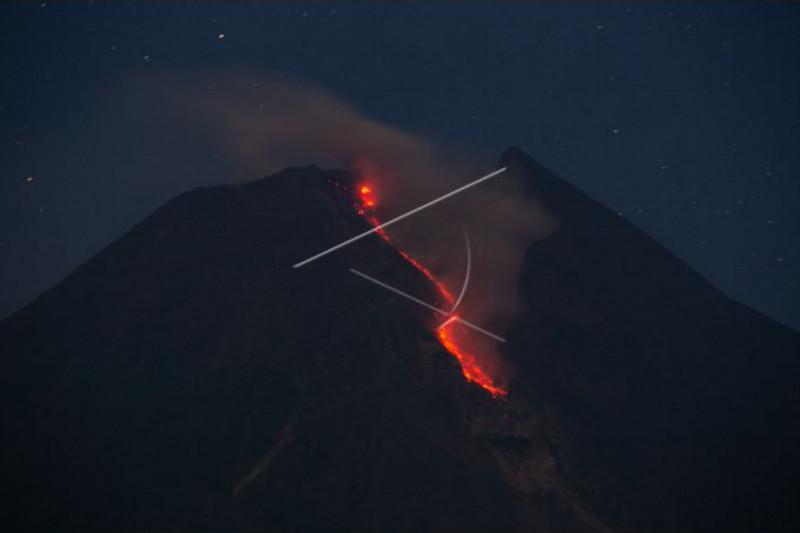 Gunung Merapi luncurkan awan panas ke arah tenggara dan barat daya