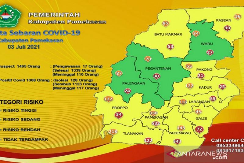 Tambah 16 orang, Kasus aktif baru COVID-19 di Pamekasan naik 128