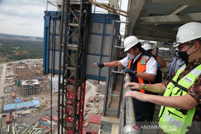 Progres PLTU mulut tambang terbesar di Indonesia capai 89 persen