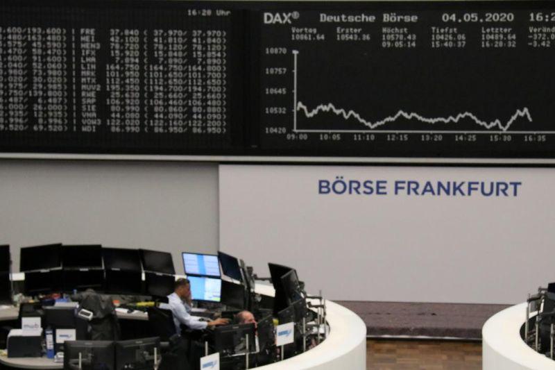 Saham Jerman ditutup di zona hijau, indeks DAX 30 terkerek 0,96 persen
