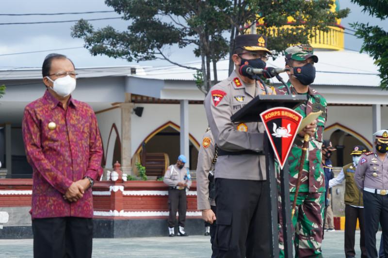 Polda Bali kerahkan 1.495 personel untuk pengamanan PPKM darurat