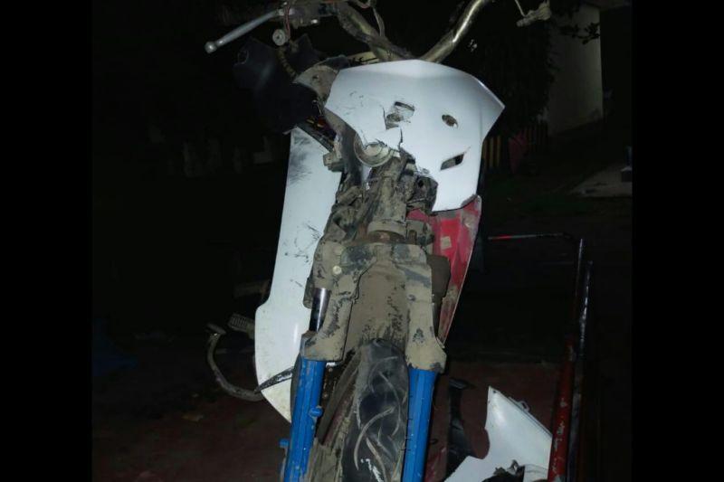 Sepeda motor dan mobil tabrakan di Batukliang, satu korban masuk rumah sakit