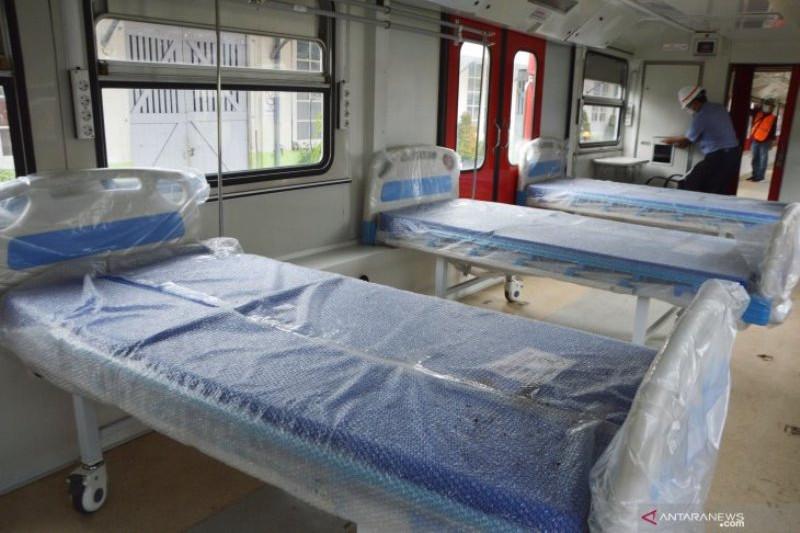 Kereta medik darurat INKA tampung 60 pasien COVID-19