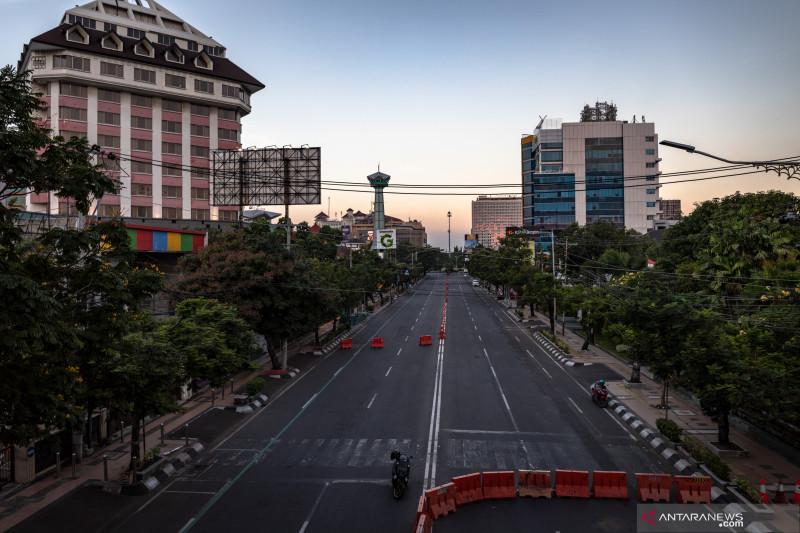 Akses ke kawasan Tugu Muda Semarang ditutup selama PPKM darurat