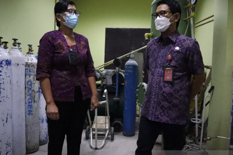 Pemkab Badung pastikan ketersediaan oksigen di RSD Mangusada aman