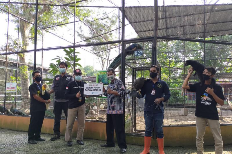 ACT-MRI kirim bantuan pakan untuk satwa koleksi Taman Umbul Madiun