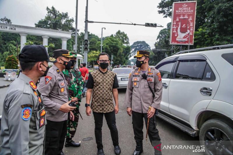 Kota Bogor berlakukan penyekatan kendaraan bermotor 24 jam