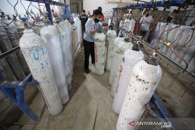 Pemkot Bandung pastikan tabung oksigen terdistribusi baik ke RS