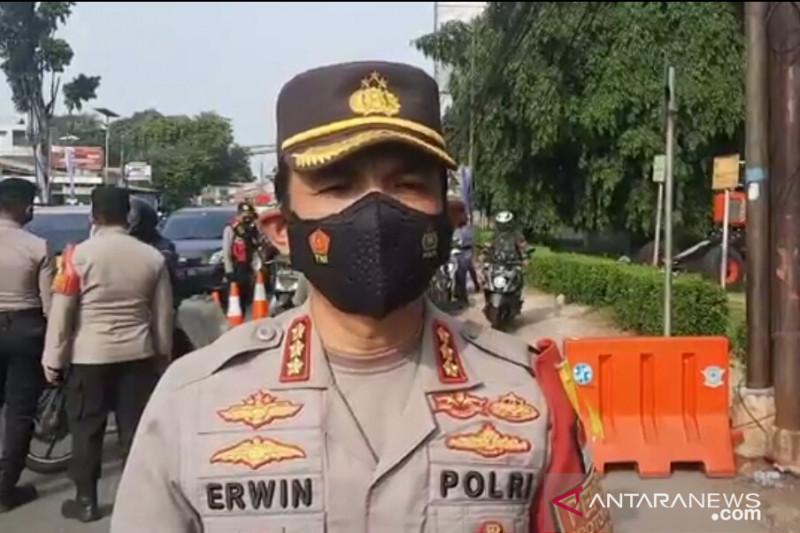 Polrestro Jakarta Timur tindak tegas petugas beritahu jalur
