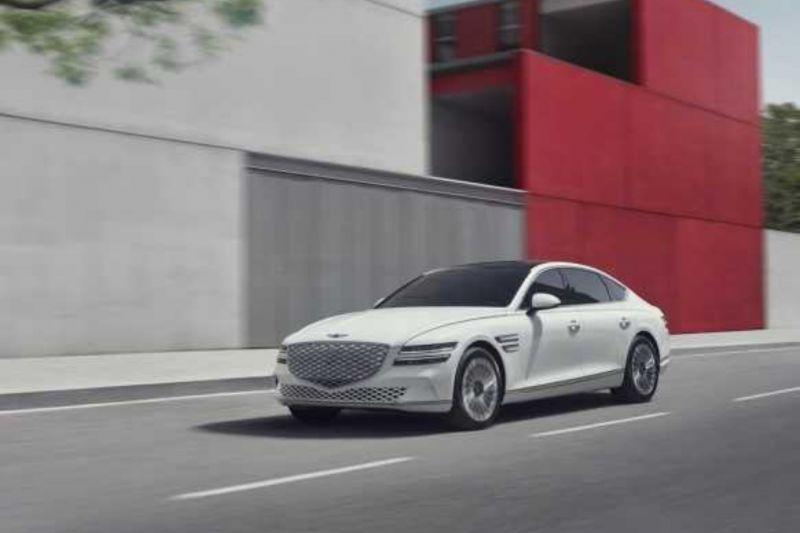 Genesis luncurkan sedan G80 listrik di Korea Selatan