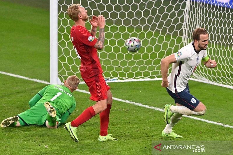Gol babak tambahan Kane bawa Inggris lewati Denmark ke final Euro 2020