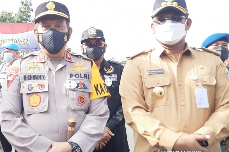Pj Gubernur Kalimantan Selatan berlakukan jam malam di zona merah