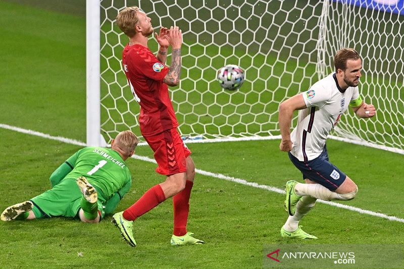 Euro 2020 – Gol Harry Kane antar Inggris singkirkan Denmark, tantang Italia di final