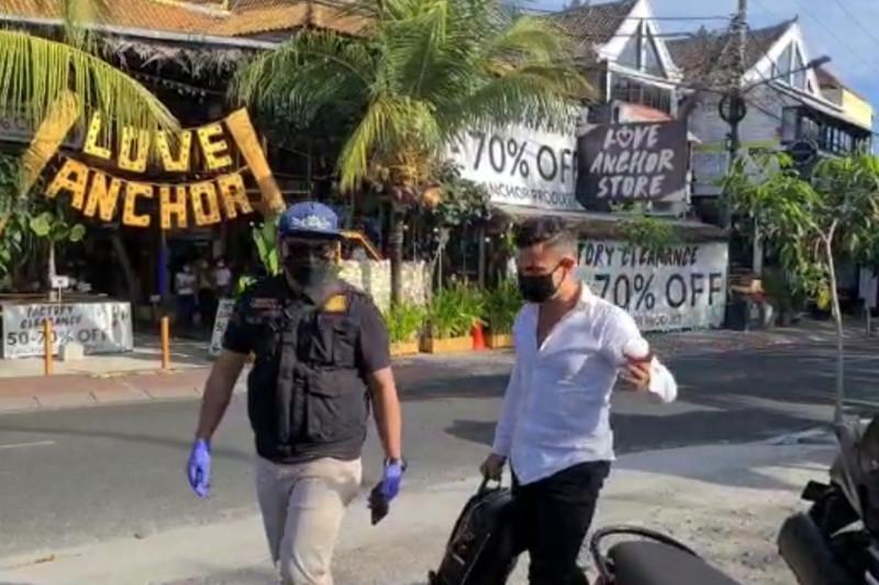 Tiga WNA langgar protokol kesehatan di Bali dideportasi
