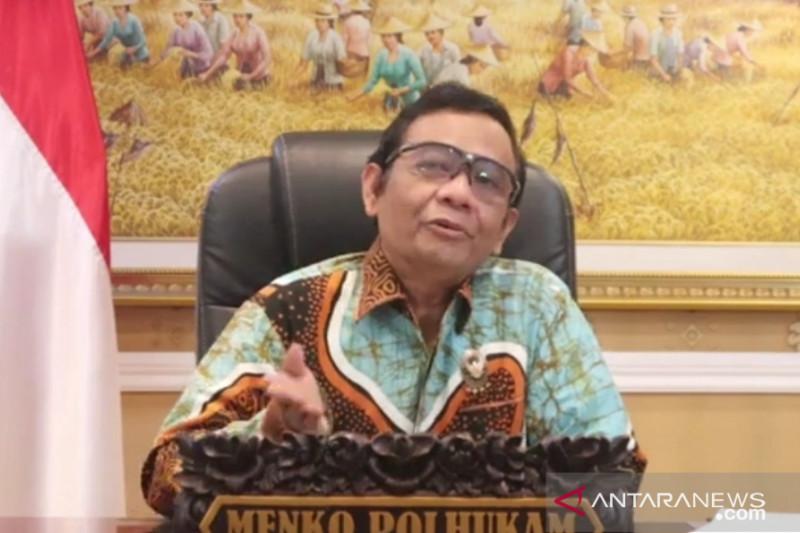 Tanggapan Mahfud soal bantuan oksigen Indonesia ke India