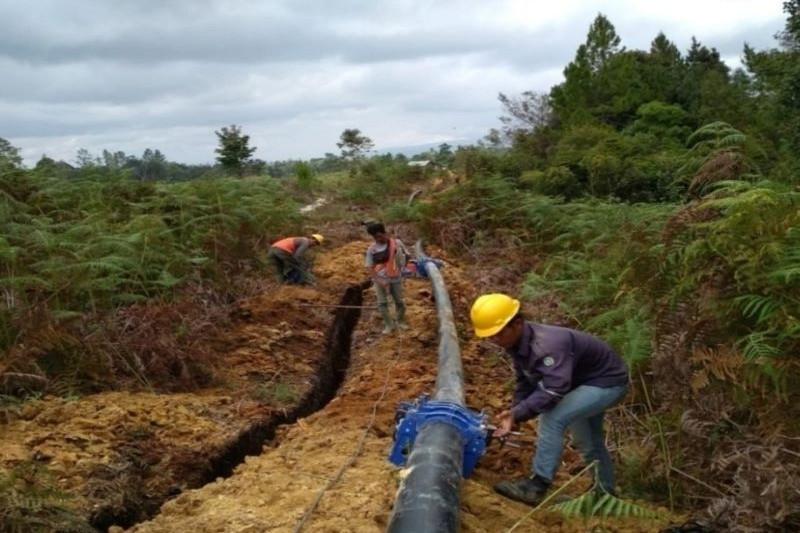 Kementerian PUPR terus bangun irigasi dan akses Food Estate Sumut