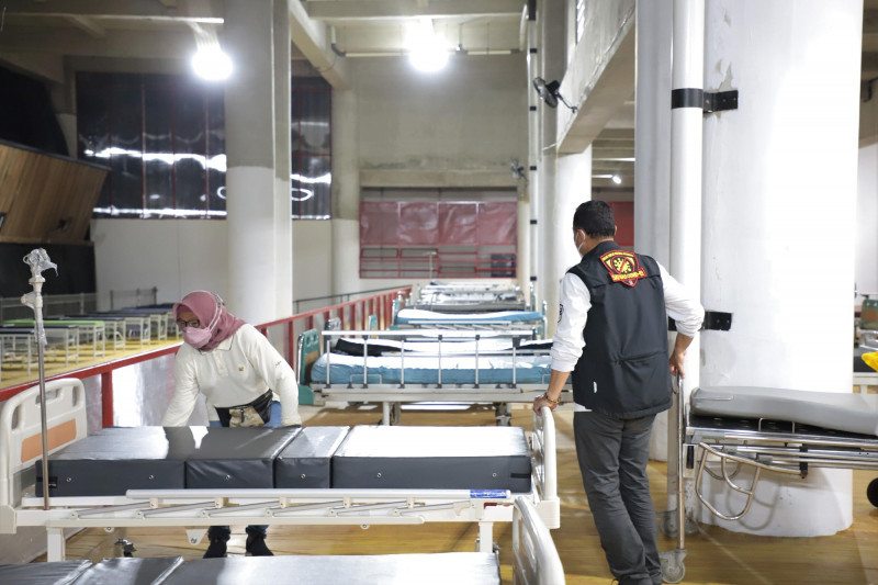 RS Lapangan Tembak Surabaya siapkan 100 oksigen konsentrator