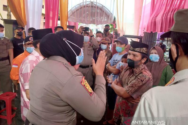 Satgas bubarkan pesta hajatan warga Rejang Lebong