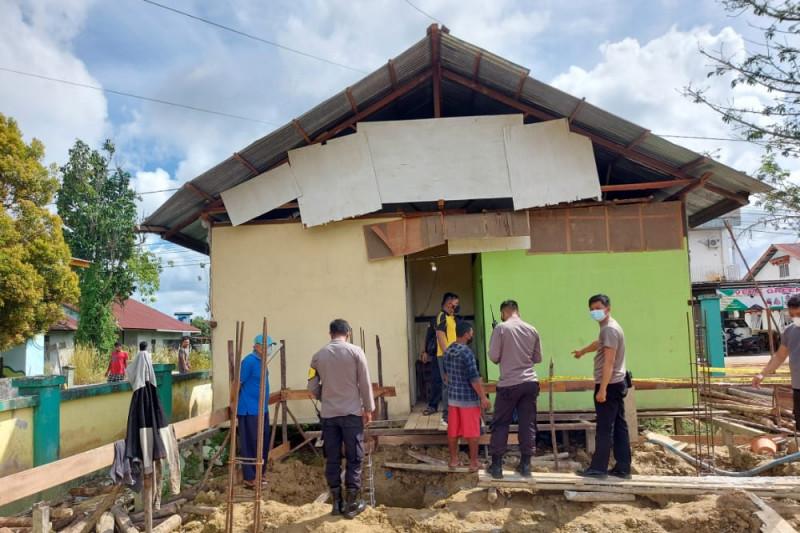 Pria asal Jawa Barat ditemukan tewas di lokasi proyek SDN 01 Kedamin