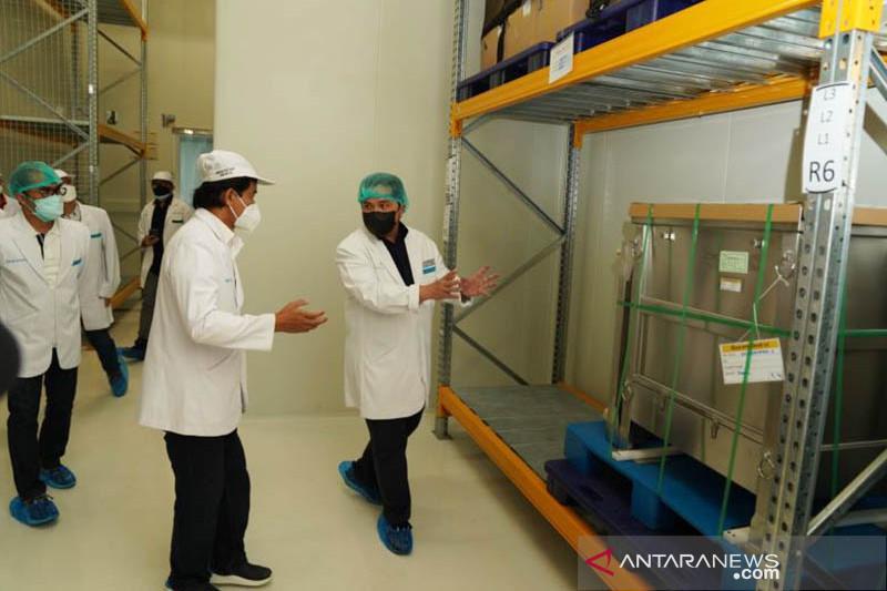Erick Thohir minta Bio Farma tingkatkan produksi vaksin Covid-19