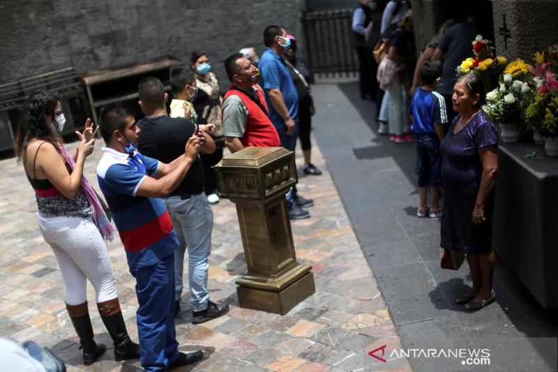 Meksiko umumkan kasus pertama varian Delta