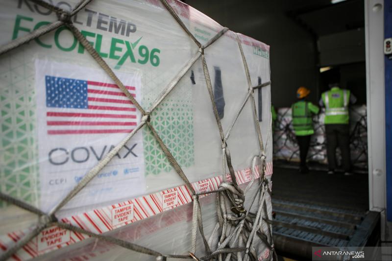 Indonesia terima 3 juta dosis vaksin COVID-19 Moderna dari AS