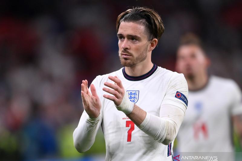 Jack Grealish bantah dianggap tak mau ambil penalti saat lawan Italia