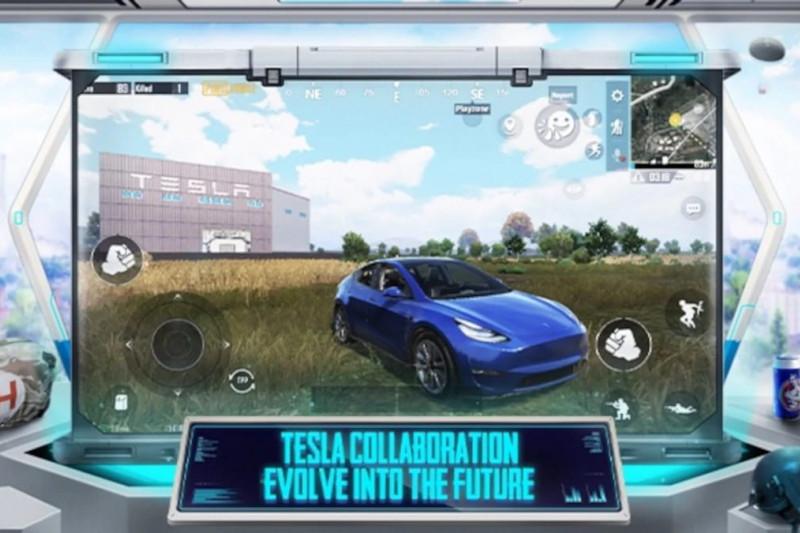 Pemain PUBG Mobile bisa buat dan kendarai Tesla Model Y di Erangel