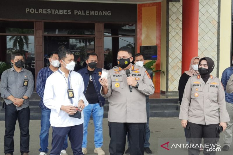 Polisi tangkap 14 orang tersangka pengedar narkoba di Tangga Buntung