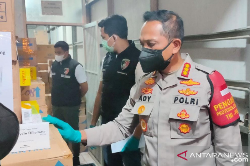 Polisi tangkap dua WNA tersangka pembuat narkoba di Kota Tangerang