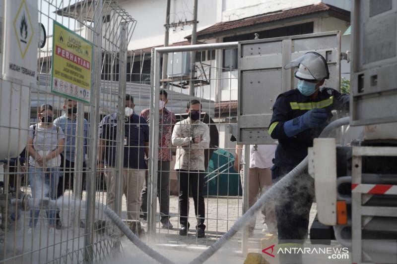 PT Pupuk Kujang bantu oksigen untuk RSUD Kota Bogor