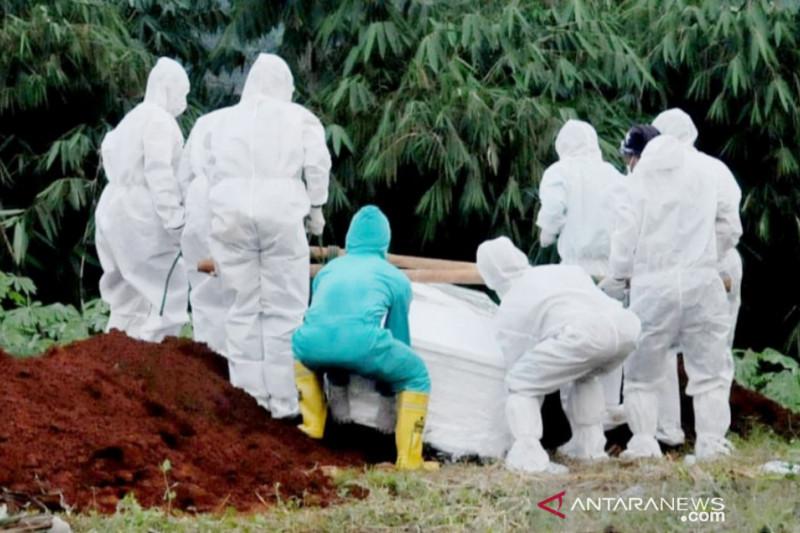 Angka kematian pasien COVID-19 di Bogor tinggi, Satgas tambah TPU