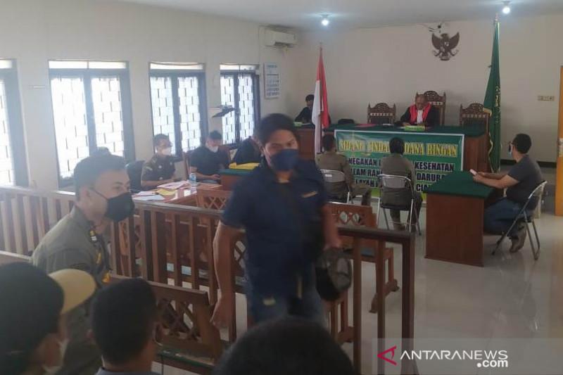 Selama PPKM darurat 94 pelanggaran disidangkan PN Cianjur