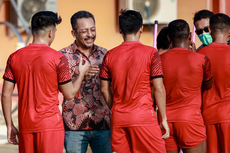 Madura United belum putuskan jadwal latihan bersama