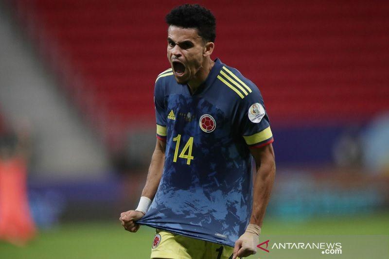 Penyerang Kolombia Luis Diaz jadi pemain naik daun Copa America 2021