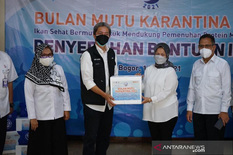 KKP berikan bantuan 5 ton ikan untuk Kota Bogor