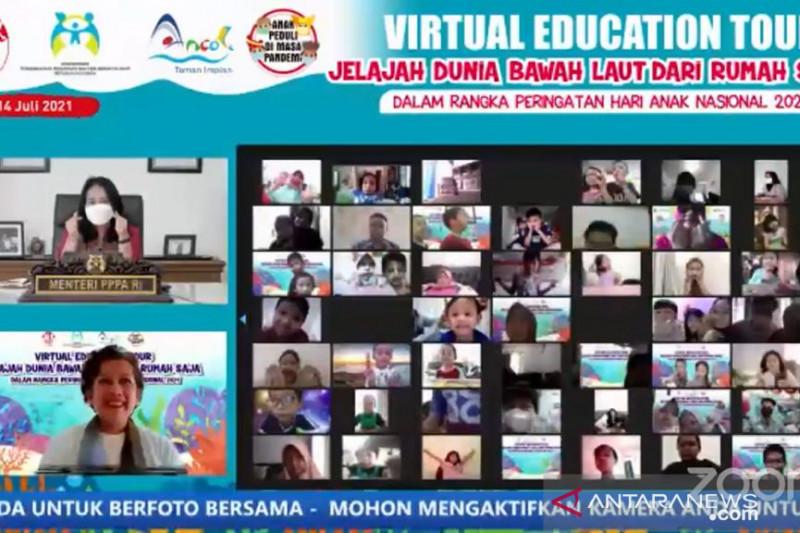 Menteri Bintang ajak anak Indonesia wisata edukatif secara virtual