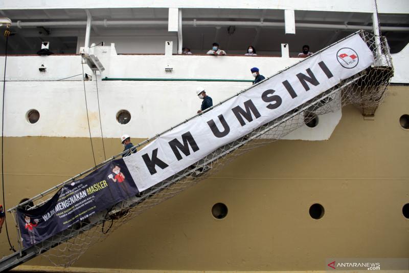 Kapal Pelni Jadi Pusat Isolasi COVID di Makassar
