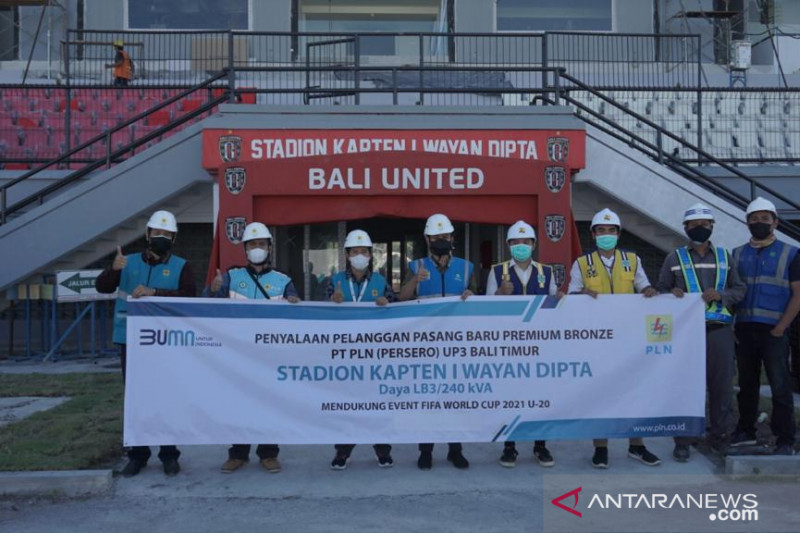 PLN listriki stadion Bali United dukung FIFA World Cup 2023 U-20