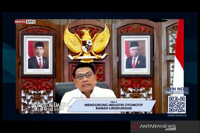Moeldoko yakin Indonesia jadi pemain utama industri kendaraan listrik