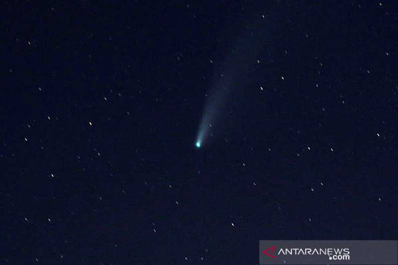 Lapan: Pijaran meteor melintas di langit Yogyakarta