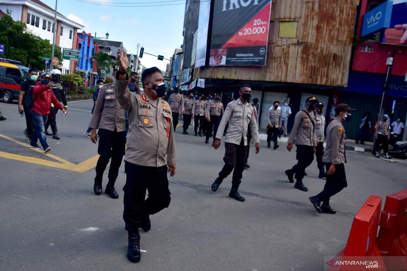 Polisi tangkap terduga provokator di demonstrasi tolak PPKM Ambon